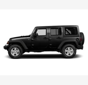 2016 Jeep Wrangler 4WD Unlimited Sport for sale 101286845