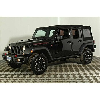 2016 Jeep Wrangler 4WD Unlimited Rubicon for sale 101297570