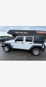 2016 Jeep Wrangler 4WD Unlimited Sport for sale 101305086