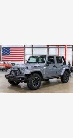 2016 Jeep Wrangler for sale 101343161