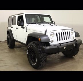 2016 Jeep Wrangler for sale 101358718