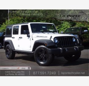 2016 Jeep Wrangler for sale 101368827