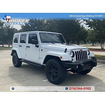 2016 Jeep Wrangler for sale 101375570