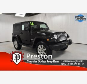 2016 Jeep Wrangler for sale 101412649