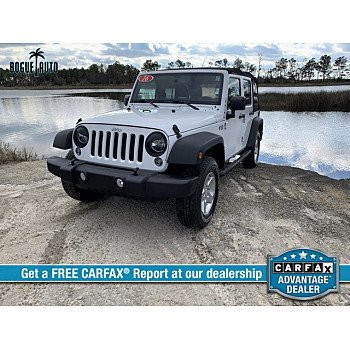 2016 Jeep Wrangler for sale 101420195