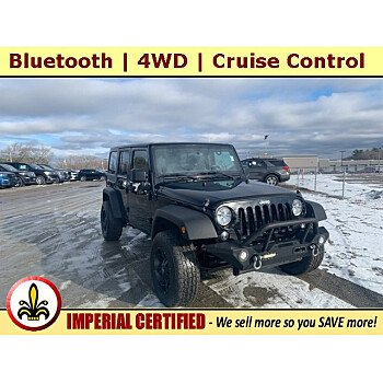 2016 Jeep Wrangler for sale 101427526