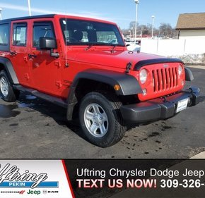 2016 Jeep Wrangler for sale 101448532