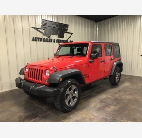2016 Jeep Wrangler for sale 101485390