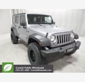 2016 Jeep Wrangler for sale 101493704