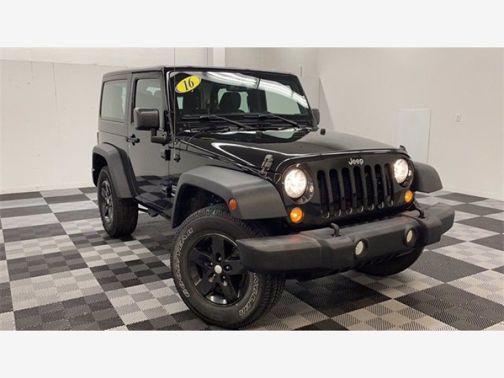 2016 Jeep Wrangler for sale 101542297