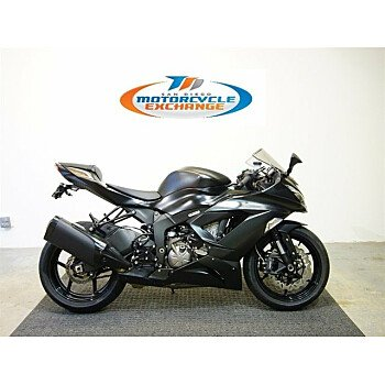 2016 Kawasaki Ninja ZX-6R for sale 200646386