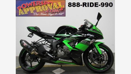 2016 Kawasaki Ninja ZX-6R for sale 200668395