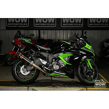 2016 Kawasaki Ninja ZX-6R for sale 201069387
