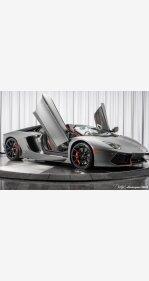 2016 Lamborghini Aventador LP 700-4 Roadster for sale 101077317