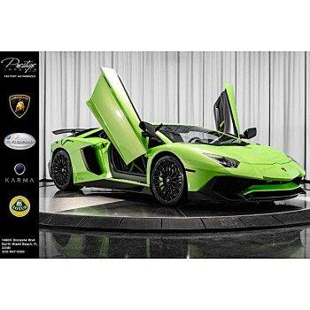 2016 Lamborghini Aventador LP 750-4 Coupe for sale 101175001