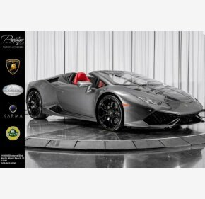 2016 Lamborghini Huracan LP 610-4 Spyder for sale 101296180