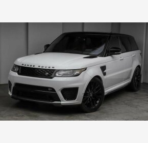 2016 Land Rover Range Rover Sport SVR for sale 101261674