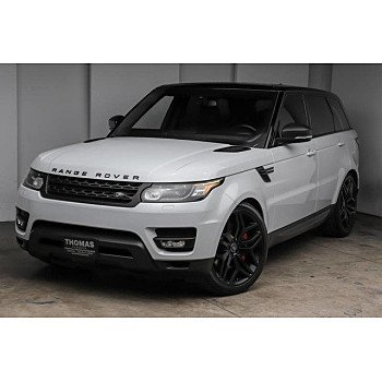 2016 Land Rover Range Rover Sport Supercharged for sale 101275455