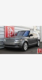 2016 Land Rover Range Rover Long Wheelbase Supercharged for sale 101034806