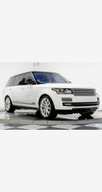 2016 Land Rover Range Rover Long Wheelbase Supercharged for sale 101213446