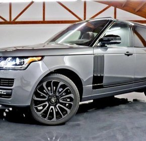 2016 Land Rover Range Rover Supercharged for sale 101215204