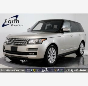 2016 Land Rover Range Rover HSE for sale 101219239