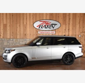 2016 Land Rover Range Rover Supercharged for sale 101232262