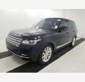 2016 Land Rover Range Rover HSE for sale 101256047