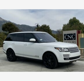 2016 Land Rover Range Rover Supercharged for sale 101292296