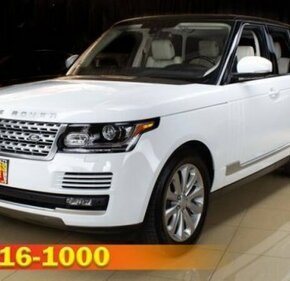 2016 Land Rover Range Rover HSE for sale 101303440