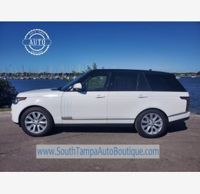 2016 Land Rover Range Rover HSE for sale 101412001