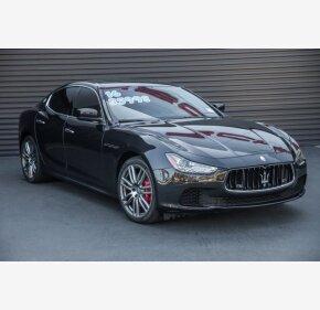 2016 Maserati Ghibli S for sale 101115716
