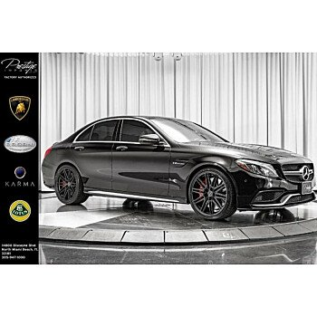 2016 Mercedes-Benz C63 AMG S Sedan for sale 101161339