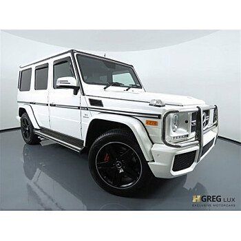 2016 Mercedes-Benz G63 AMG 4MATIC for sale 101059062