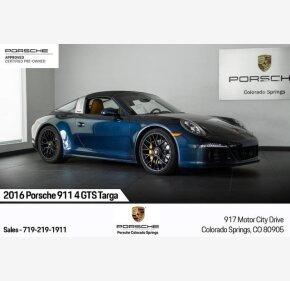 2016 Porsche 911 Targa 4S for sale 101209612