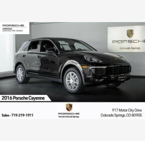 2016 Porsche Cayenne for sale 101251725