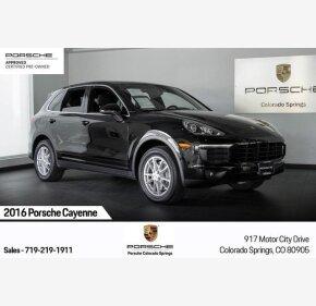 2016 Porsche Cayenne for sale 101251725