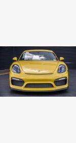 2016 Porsche Cayman GT4 for sale 101041863