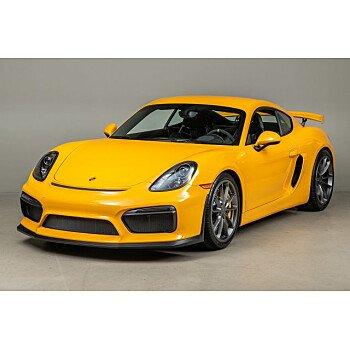 2016 Porsche Cayman GT4 for sale 101115739