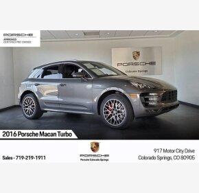 2016 Porsche Macan Turbo for sale 101261319