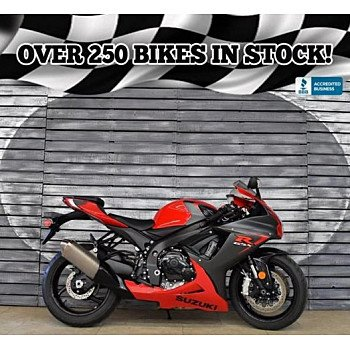 2016 Suzuki GSX-R600 for sale 200673209
