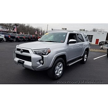 2016 Toyota 4Runner 4WD for sale 101086060