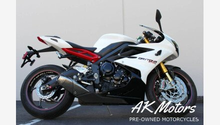 2016 Triumph Daytona 675R for sale 200704769