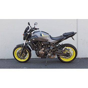 2016 Yamaha FZ-07 for sale 200919329