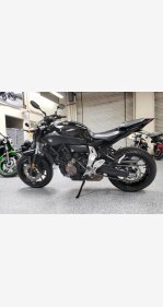 2016 Yamaha FZ-07 for sale 200925419