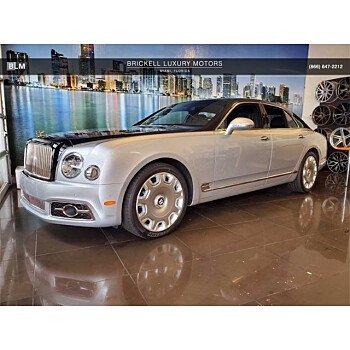 2017 Bentley Mulsanne Speed for sale 101346011