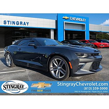 2017 Chevrolet Camaro SS Convertible for sale 100791038