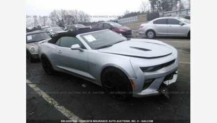 2017 Chevrolet Camaro SS Convertible for sale 101123470