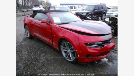 2017 Chevrolet Camaro LT Convertible for sale 101224597