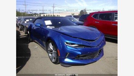 2017 Chevrolet Camaro LT Convertible for sale 101238944